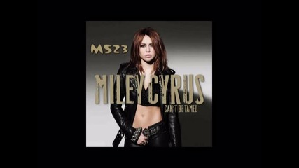 Miley Cyrus - Cant Be Tamed 2010 : 09. Scars
