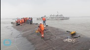 China Ship Righted to Speed Up Search