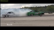 Nissan 240sx S13 Ls1 vs Toyota Ae86 Corolla F20c turbo - Drift