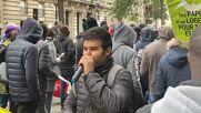 France: Undocumented migrants demand legal status at Paris march