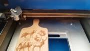 Лазерна гравираща машина 40 Вата, Co2 cnc лазер