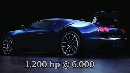 2011 Bugatti Veyron 16.4 Super Sport in Blue