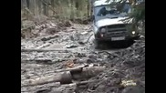 Offroad In Russia with styer pinzgauer and uaz