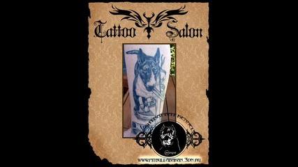 Bull Terrier - tattoos