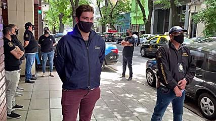 Argentina: Police raid office of Diego Maradona's psychiatrist