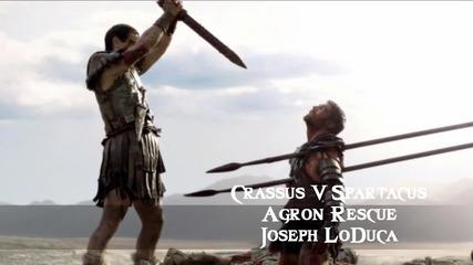Crassus V. Spartacus _ Agron Rescue