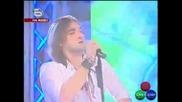Най - доброто изпълнение във Music Idol - Тома Здравков - Cryin In The Rain | Рок Концерт|