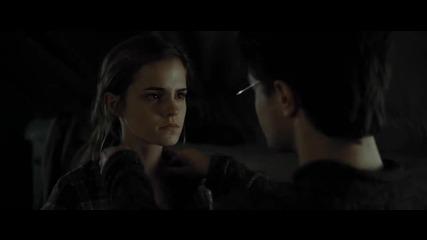 Хари и Хърмаяни - Танцът в палатката ~ Harry Potter and the Deathly Hallows - Part 1 ~