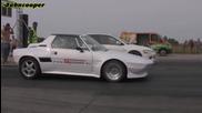 Fiat X1/9 Turbo vs Mitsubishi Evo 8