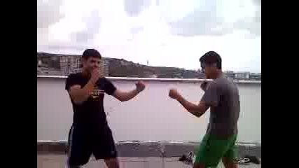 Taekwondo udar Kombinaciq