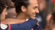 Мега луд гол на Златан Ибраимович срещу Бастиа