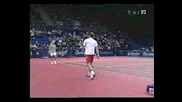 Федерер - Родик ! изпълнение