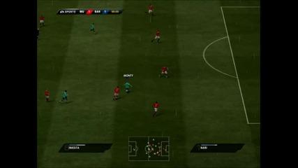 Barcelona - Man Utd 2-1 Fifa 11 (90 Min)
