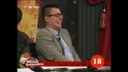 За Секса Митьо Пищова, Денислав, и Папажан в Шоуто на Иван и Андрей 2011.2.18