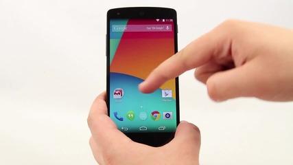 [бг] Премиера на Android Kit Kat 4.4.2 в Lg Google Nexus 5 (част 2)[full Hd]