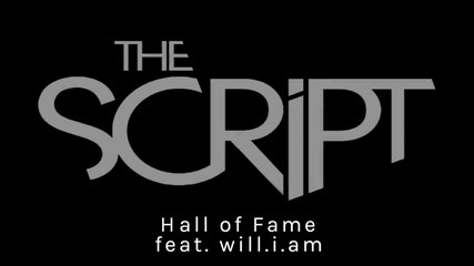 Премиера !! The Script - Hall of fame ft. Will I Am