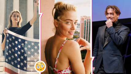 Интернет общността vs. Амбър Хърд: Актрисата - притеснена от подкрепата за Джони Деп