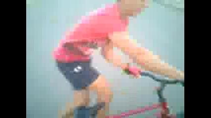 Каране на колело на капла