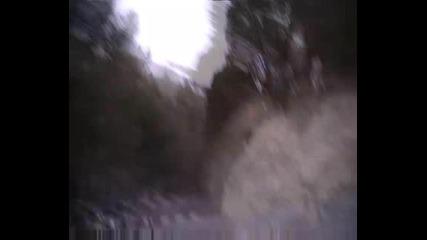 porsche 911 razdava gas
