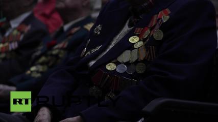 Украйна: Украинските власти отдават почит на ветерани от II световна война