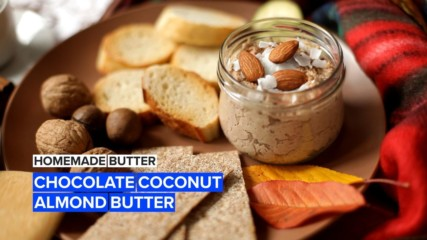 Learn how to make your own healthy, delicious chocolate almond butter
