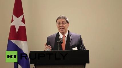 Panama: 'Important' to remove Cuba from US list of 'terrorism sponsors' - FM Parilla