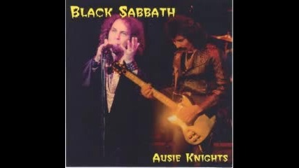 Black Sabbath - Supertzar War Pigs Live In Sydney 27.11.1980