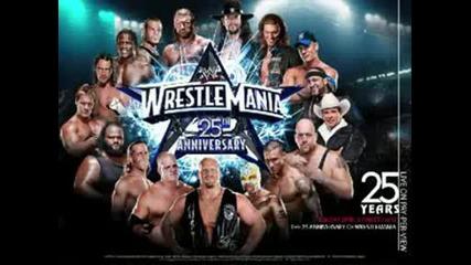 Музиката на Wwe Wrestle Mania 25