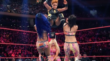 Becky Lynch & Charlotte Flair vs. Bayley & Sasha Banks: Raw, Sept. 10, 2019