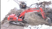 Hitachi Zaxis 470 Lch Working