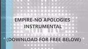 Empire Cast - No Apologies Instrumental