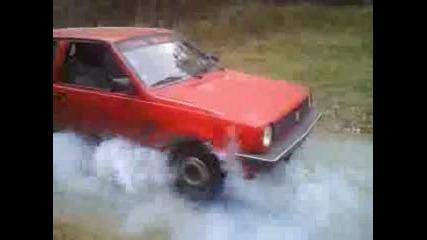Vw Golf MK1 - Пали Гуми