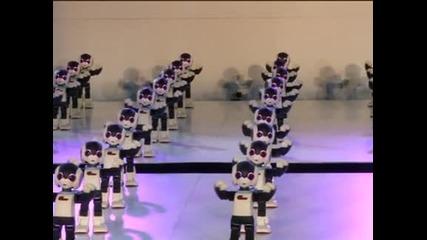 В обектива: Танцуващи роботи