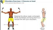 Бодибилдинг упражнения - Разтваряне за предно рамо