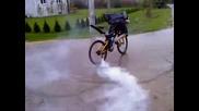 Drift с колело !