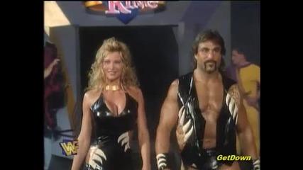 "Steve Austin vs. "" Wildman "" Marc Mero w/ Sable - Wwf King Of The Ring 1996"