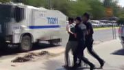 Turkey: Clashes break out in Diyarbakir over thousands of suspended teachers