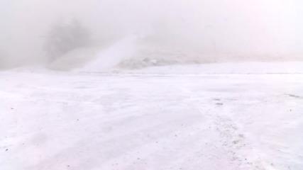 Първи сняг на Шипка