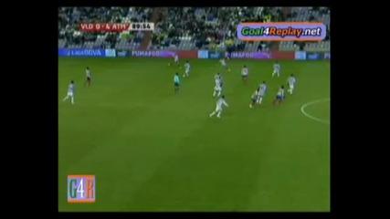 Real Valladolid - Atletico Madrid 0:4 Кун Агуеро гол !