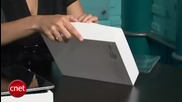 ipad Unboxing and First Use (cnet)