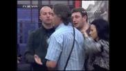 Big Brother F - Див Скандал Давид Боян. Лудница В Къщата 02.04.10