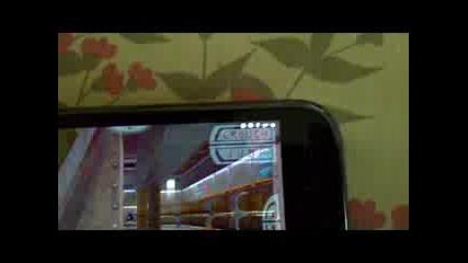 Quake lll Arena на Galaxy S (с официален Gingerbread 2.3.3)