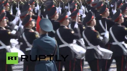 Генерална репетиция на Парада на победата, Москва 2014