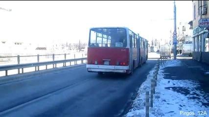 Последните дни на автобусите Икарус 280 в София