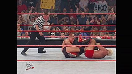Ric Flair vs. Brock Lesnar: Raw, July 1, 2002 (Full Match)