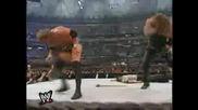 Wwf The Undertaker Vs Hhh - Wrestlemania 17