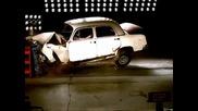 Тестова катастрофа на Mercedes Ponton