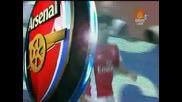 03.08.09 Арсенал 3:0 Глазгоу Ренджърс Всички Голове в Мача!