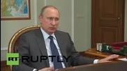 Русия: Путин иска миграционните служби помогнат на 2.5 милиона украински бежанци