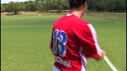 How to Do an Outswinging Corner Kick